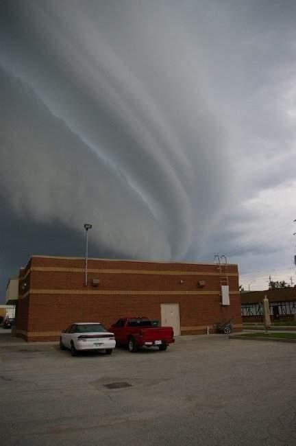 Nietypowe kształty chmur 5
