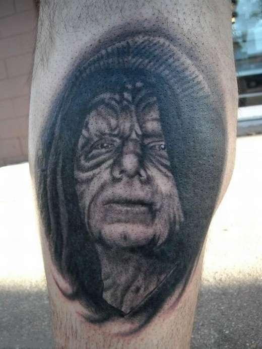 Tatuaże z twarzami gwiazd 16