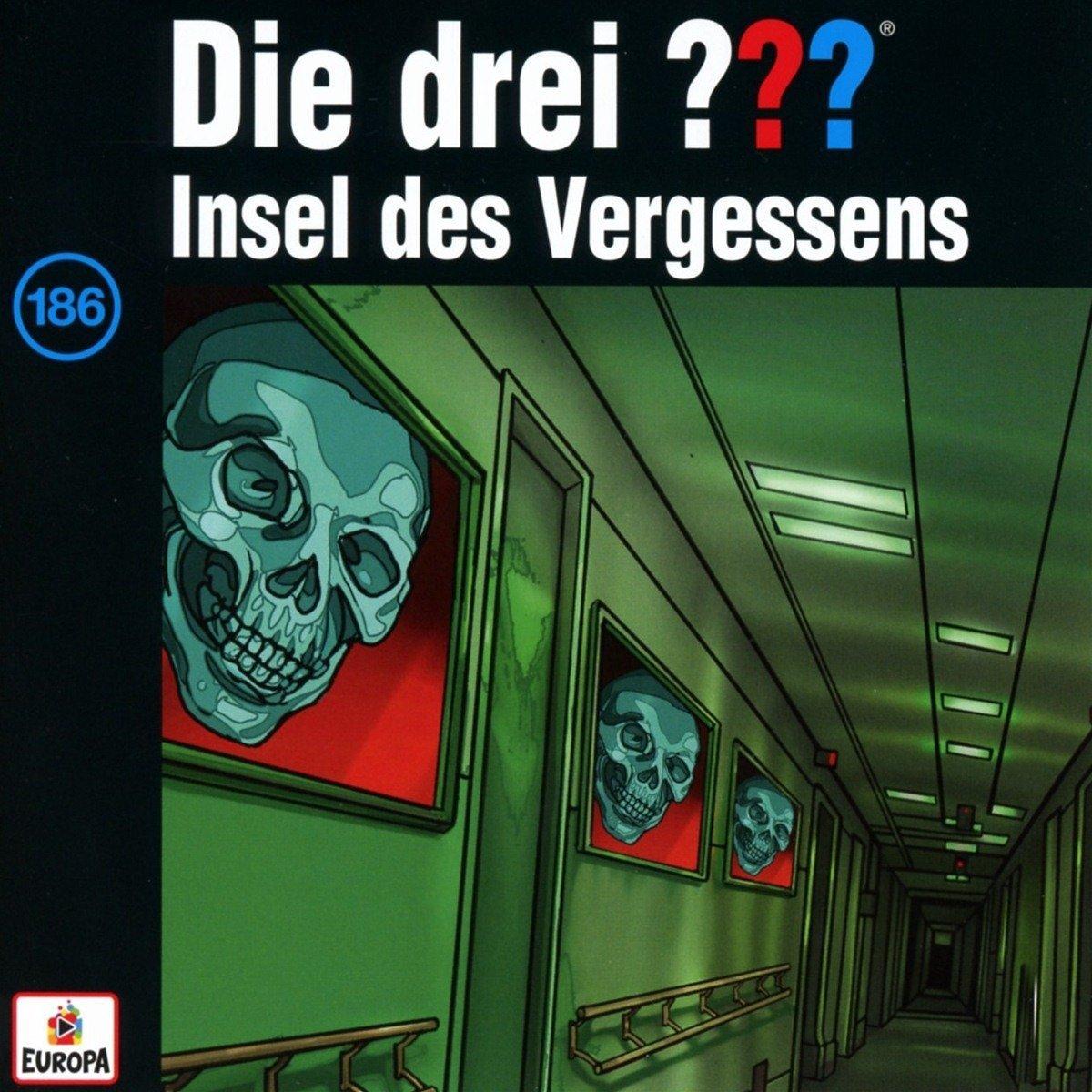 Hörbuch Cover für Die Drei ??? (Fragezeichen): 186/Insel des Vergessens