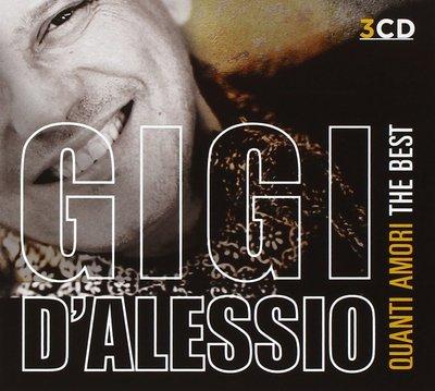 Gigi D'Alessio - Quanti amori. The Best [3CD] (2016).Mp3 - 320Kbps