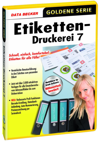 tools data becker etiketten druckerei v7. Black Bedroom Furniture Sets. Home Design Ideas