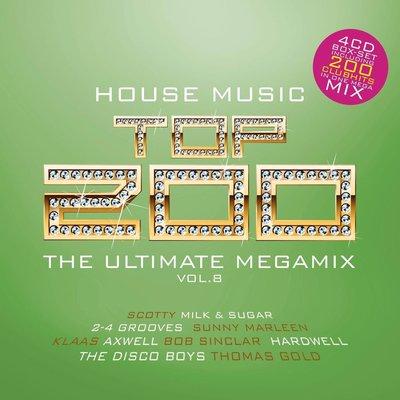 VA - House Music Top 200 Vol.08 [4CD] (2014) .mp3 - V0