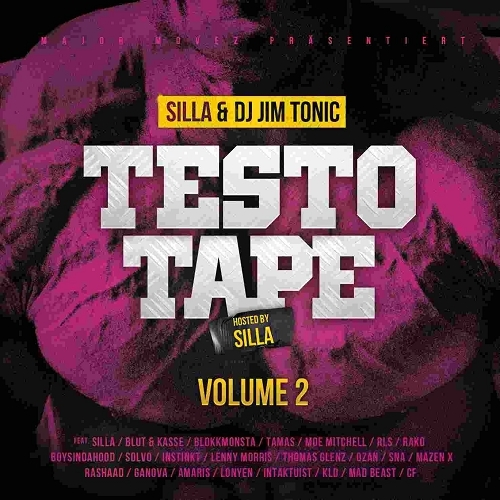 Silla & DJ Jim Tonic - Testo Tape Volume 2 (Hosted by Silla) (2015)