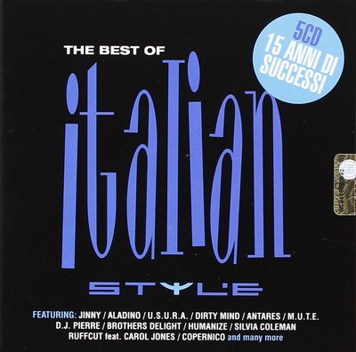 VA - The Best Of Italian Style [5CD] (2014) .mp3 - V0