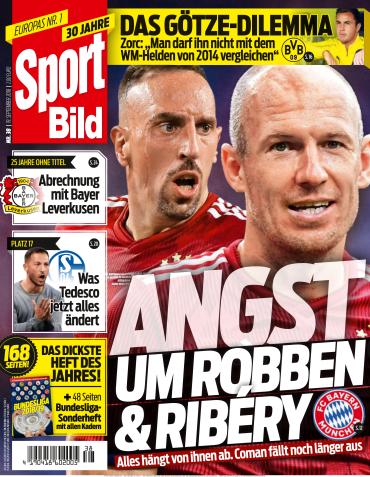 Sport Bild Magazin No 38 vom 19 September 2018