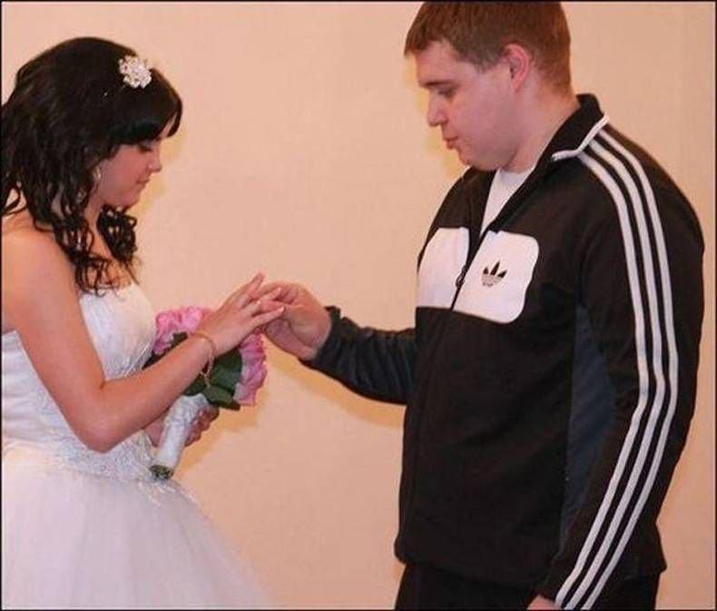 Najdziwniejsze zdjęcia ślubne #4 39