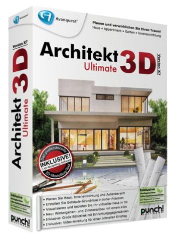 Architekt 3D Ultimate X9