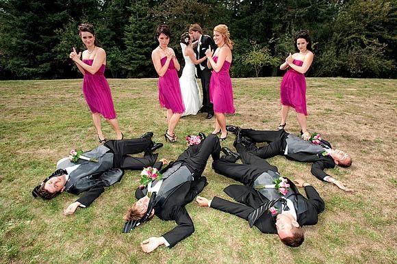 Najdziwniejsze zdjęcia ślubne #4 49