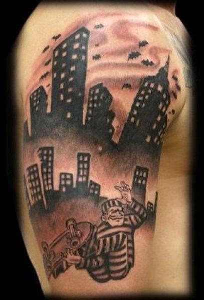 Tatuaże z motywem sportowym 40