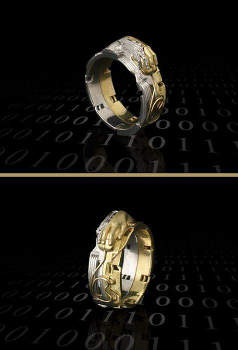Nietypowe pierścionki 17