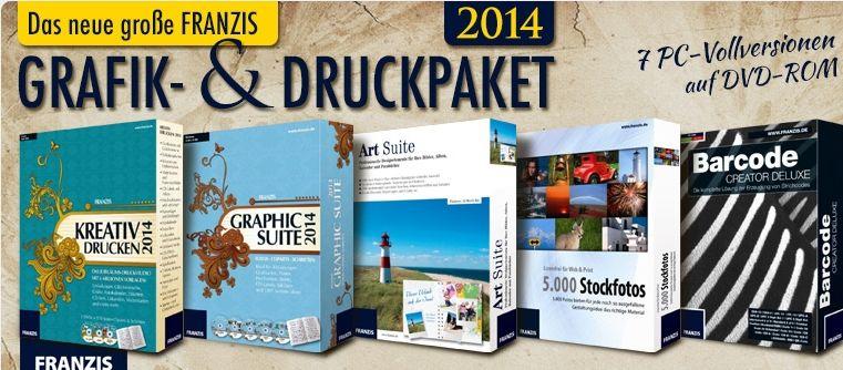 Das neue Franzis Grafik und Druckpaket (2014)