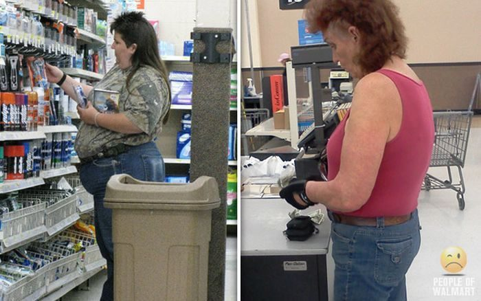 Najdziwniejsi klienci z WalMart #24 11