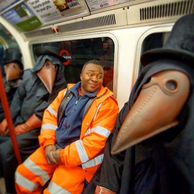 Najdziwniejsi pasażerowie metra 9