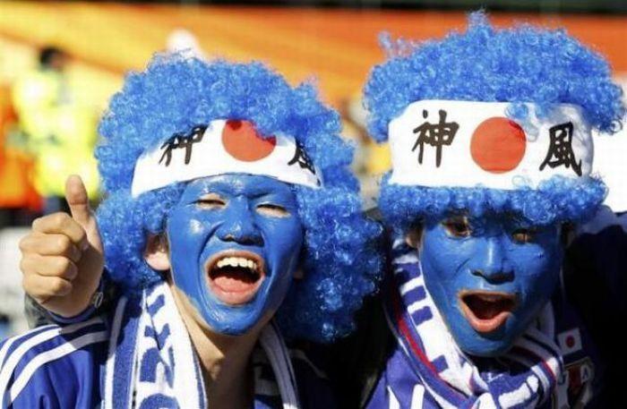 Zakręceni kibice z Mistrzostw Świata 2010 5