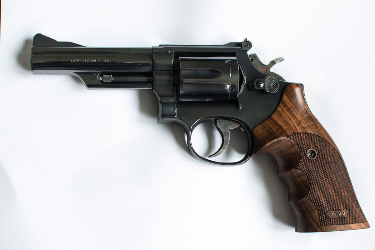 Smith&Wesson Model 19 - 4 - PULVERDAMPF