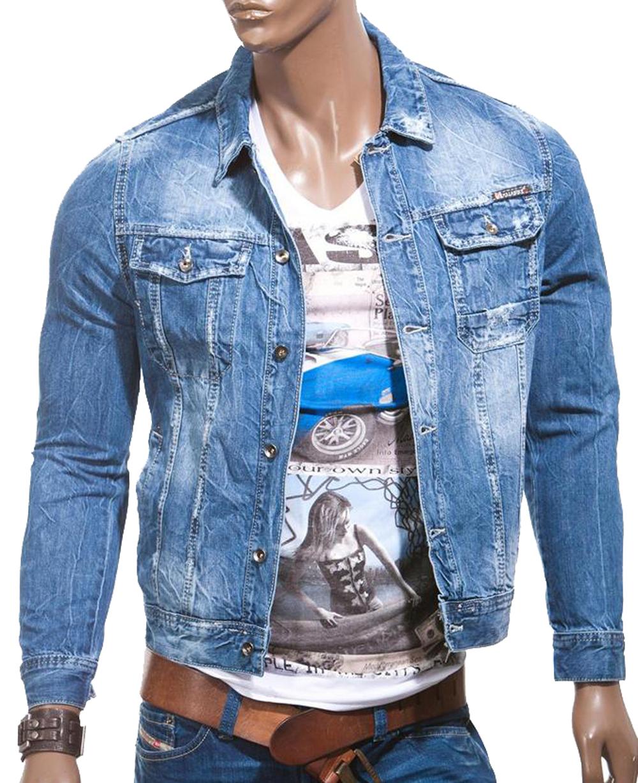 balandi herren jeans jeansjacke jacke denim sakko blazer neu style shirt 8004 ebay. Black Bedroom Furniture Sets. Home Design Ideas