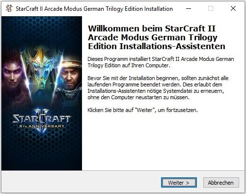 StarCraft II Arcade Modus