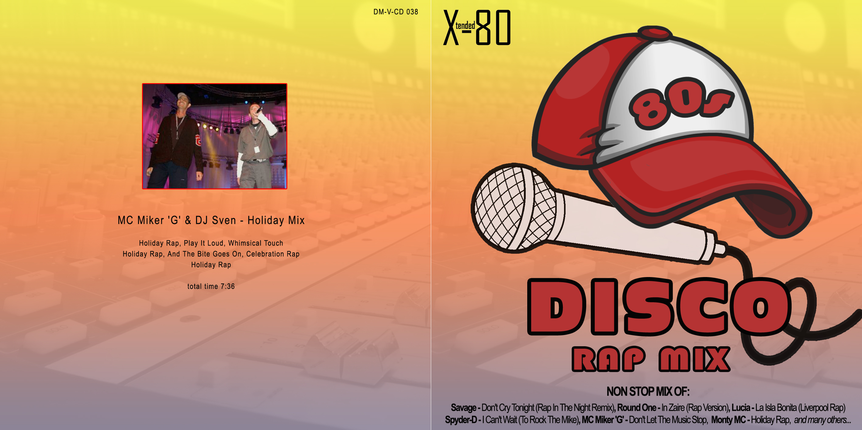 80s Disco Rap Mix