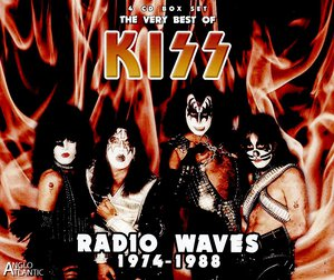 Kiss - Radio Waves 1974-1988 - The Very Best of Kiss (Live) (4CD Box Set) (2016)