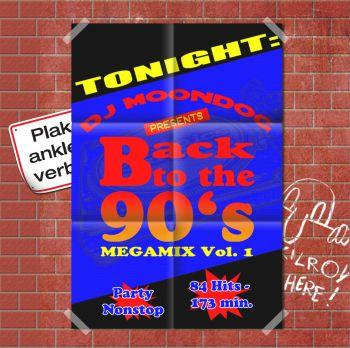 BACK TO THE 90'S VOL. 1-3 MIXED BY MOONDOG