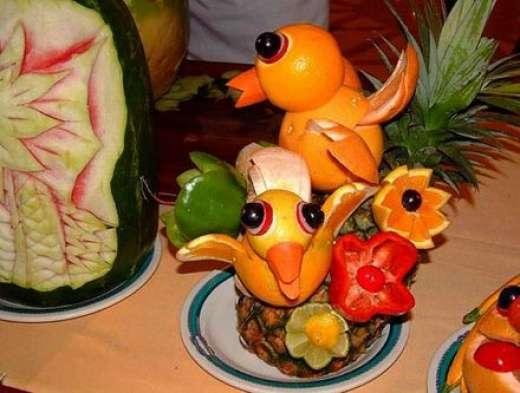 Jedzenie w artystycznej formie 1