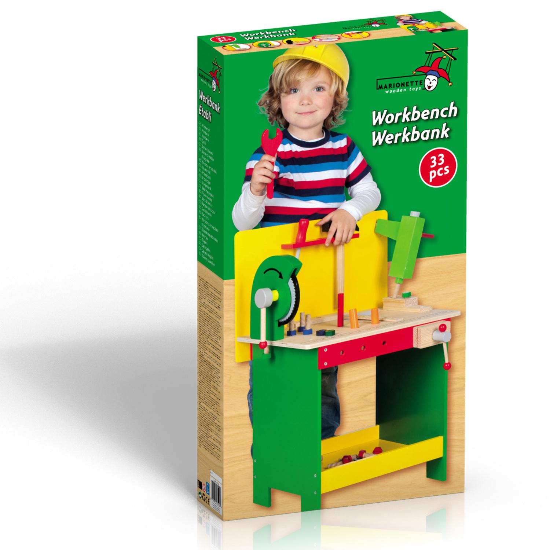 werkbank werkzeugbank kinderwerkbank werkzeug werkstatt spielzeug holz ebay. Black Bedroom Furniture Sets. Home Design Ideas
