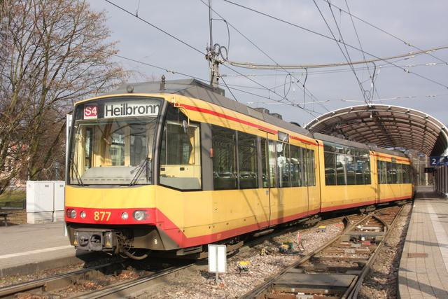 877 Karlsruhe Albtalbahnhof