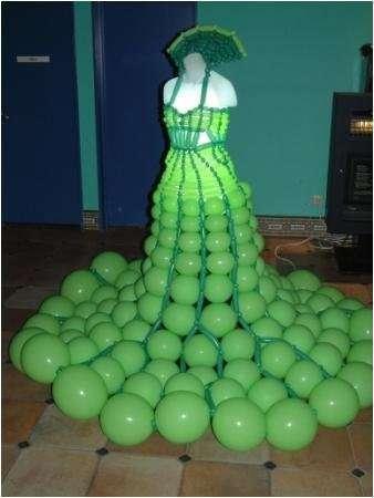 Co można zrobić z balonów 9