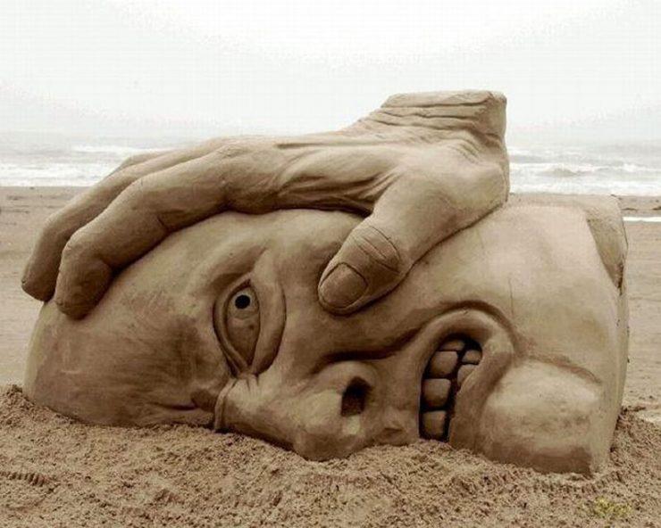 Najlepsze rzeźby z piasku na świecie. 40