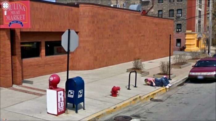Nietypowe zdjęcia z Google Street View 13