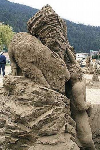 Rzeźby w piasku #2 4