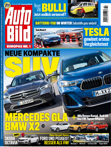 Auto  Bild Magazin No 02 vom 13 Januar 2017