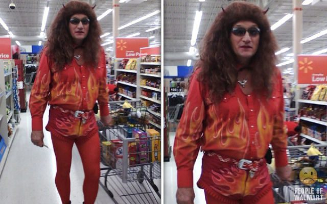 Najdziwniejsi klienci z WalMart #6 1