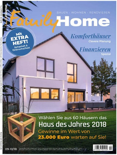 Family Home Magazin September-Oktober No 09,10 2018