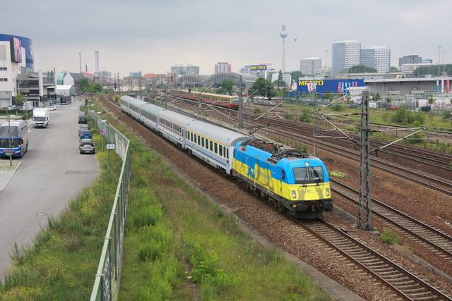 91 51 5 370 004-x PL-PKPIC Ukraine Berlin Warschauer Straße