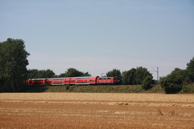 9180 6 111 083-2 D-DB RE 4847 Wunstorf Gut Dündorf