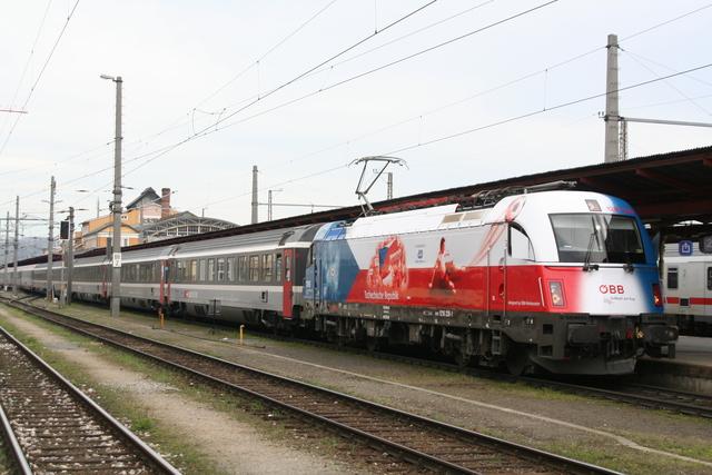 91 81 1216 226-1 Tschechien Salzburg Hbf