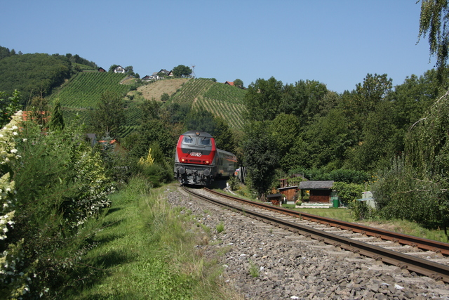 92 80 1 218 256-6 Deutschlandsberg an der Laßnisbrücke