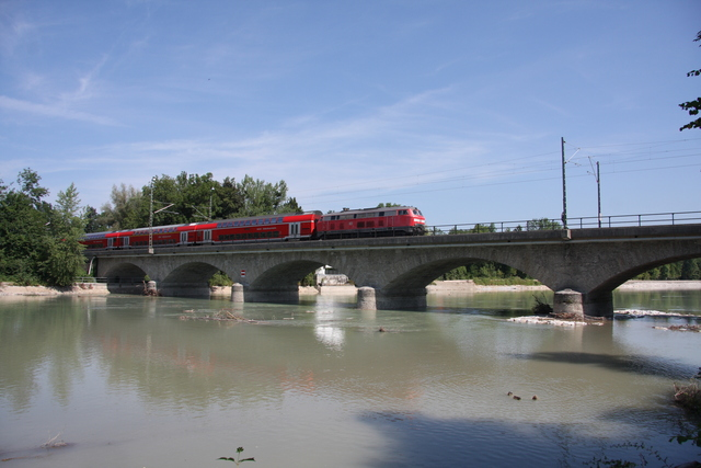 92 80 1218 356-4 D-DB Salzburg Saalachbrücke