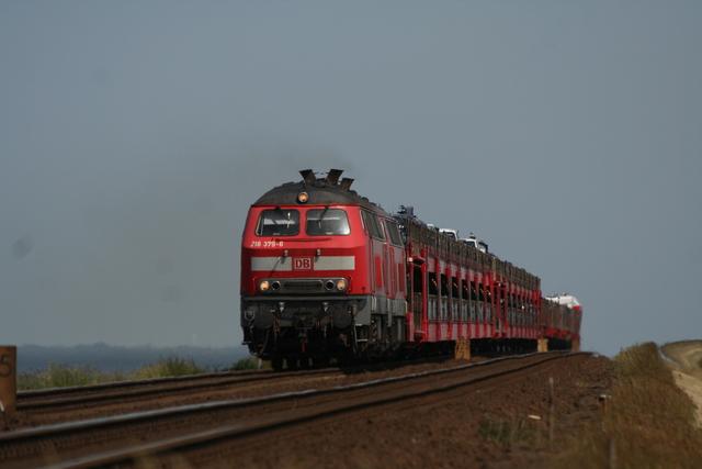 92 80 1 218 379-6 D-DB + 218 364-9 Hindenburgdamm