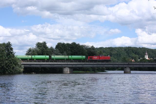 92 80 3 294 612-7 D-DB Railion DB Logistics Schwandorf Naabbrücke