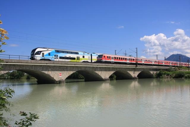 93 85 4010 103-x CH-WSTBA Freilassing Saalach-Brücke
