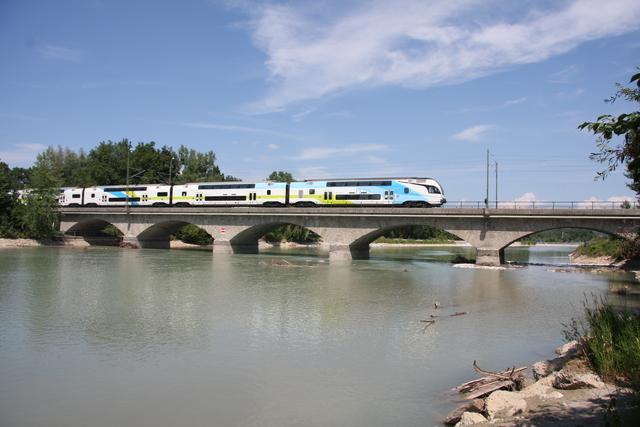 93 85 4010 604-5 CH-WSTBA Salzburg Saalachbrücke