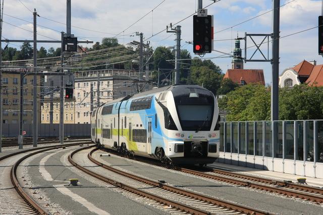 93 85 4010 604-x CH-WSTBA Ausfahrt Salzburg Hbf