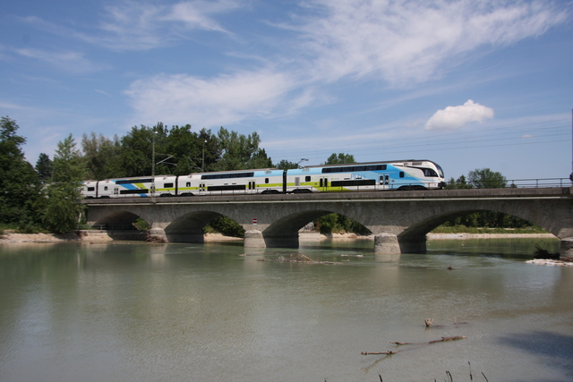 93 85 4010 605-2 CH-WSTBA Salzburg Saalachbrücke