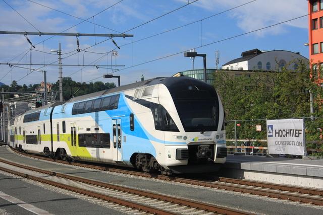 93 85 4010 606-x CH-WSTBA Ausfahrt Salzburg Hbf