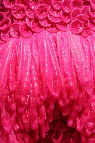 Pokaz sukni z prezerwatyw 25