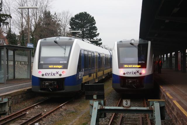95 80 0622 725-9 D-ERIXX + 95 80 0622 714-3 D-ERIXX Bad Harzburg