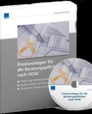 : Weka Praxisvorlagen für die Beratungspflichten nach BgB und HoAI