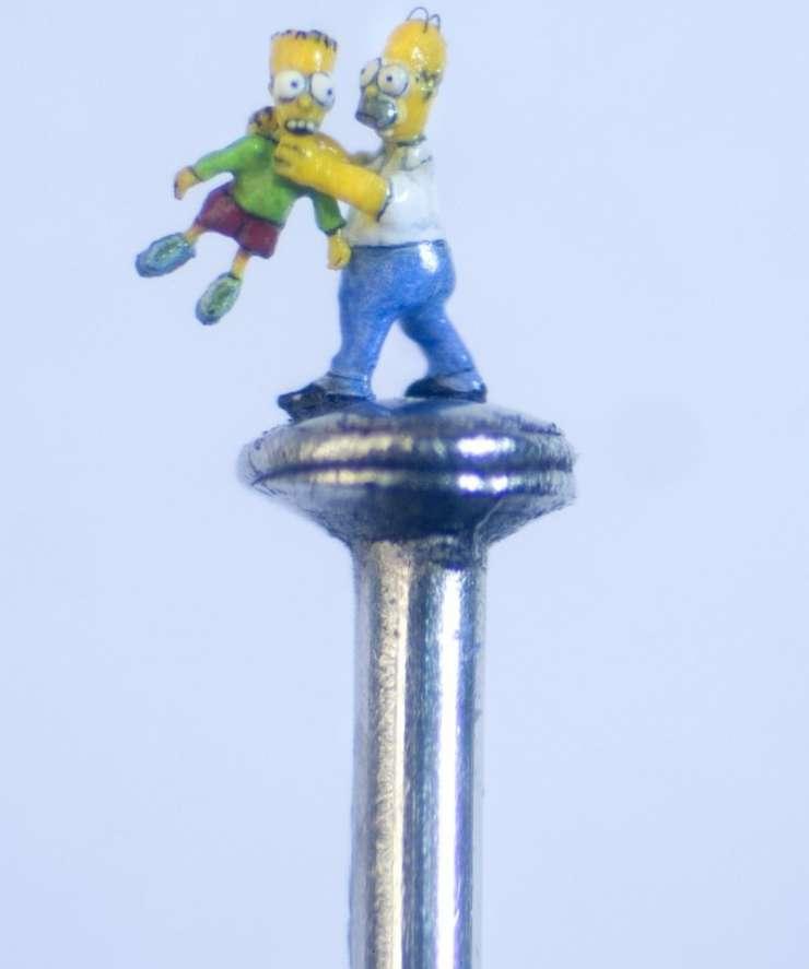 Miniaturowe rzeźby 1